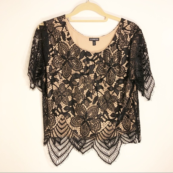 Express Tops - Express Lace Top!